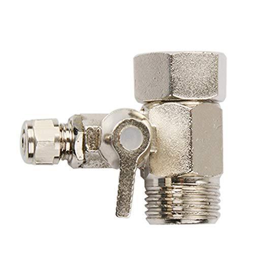joyMerit Conector de Agua Del Adaptador de La Válvula en T para El Purificador de Agua Doméstico