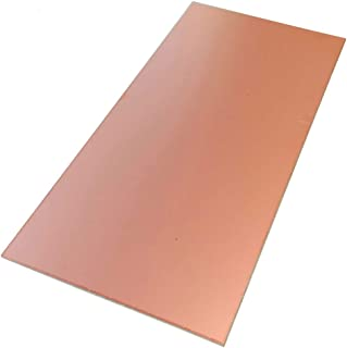 Meipai Plaque de circuit imprim/é double face en cuivre lamin/é FR4 100 x 200 x 1,5 mm
