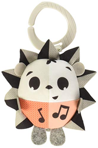 Tiny Love Tiny Friends Hochet Christopher le Renard, Collection Noir et Blanc