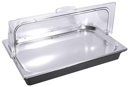 GN 1/1 Kühlsystem, Außenschale aus Kunststoff, mit Tablett GN 1/1 20 mm aus Edelstahl 18/10 / 53,5 x 33,5 x 10,5 cm | ERK