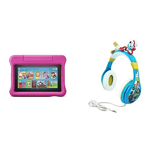 Amazon Fire 7 Kids Edition Tablet, 2-Pack