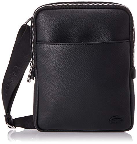 Lacoste - Nh2839gl, Shoppers y bolsos de hombro Hombre, Negro (Black), 3.5x20.5x16 cm (W x H L)
