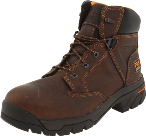 Timberland PRO - - Chaussure de sécurité Helix en Alliage 6 po pour Homme, 45 2E EU, Dark Brown
