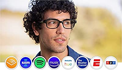 Echo Frames (2nd Gen) | Smart audio glasses with Alexa | Classic Black by Amazon