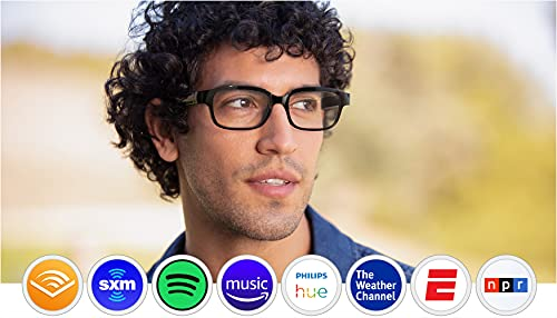 Echo Frames (2nd Gen)   Smart audio glasses with...