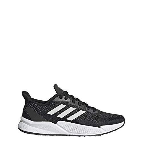adidas Women's X9000L2 Running Shoe, Black/White/Grey, 7