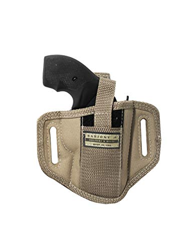 Barsony New Desert Sand 6 Position Ambidextrous Concealment Pancake Holster for EAA WINDICATOR