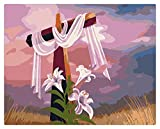 LZQZJD Classic 1500 Piece Puzzle Easter Cross Art Education Gift Large Wooden Puzzle Toy