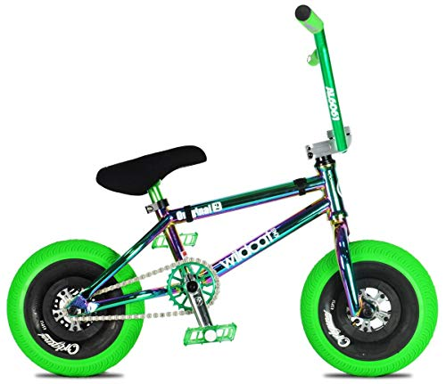 Wildcat Joker Original 2C Mini - Bicicleta BMX sin freno, color verde