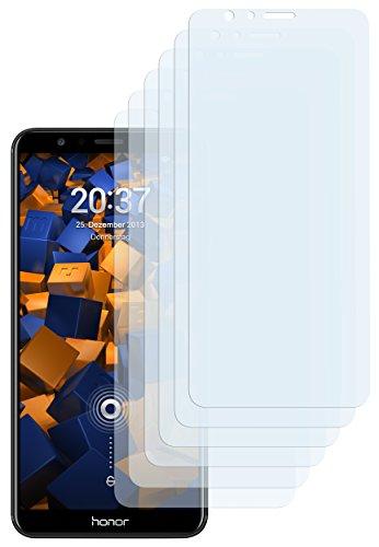 mumbi Schutzfolie kompatibel mit Huawei Honor 7X Folie klar, Bildschirmschutzfolie (6X)
