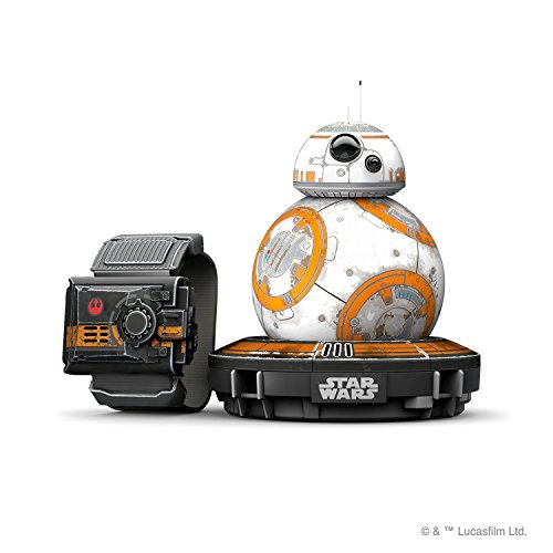 Sphero Star Wars R001SRW - robot electrónico Droid BB-8 con Pulsera Force...