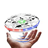 LED Hand Drone, Hand Operated Drones for Kids with 5 Sensors, Hands Free Mini Drones Small UFO, Hand Controlled Flying Ball Toys Gifts...