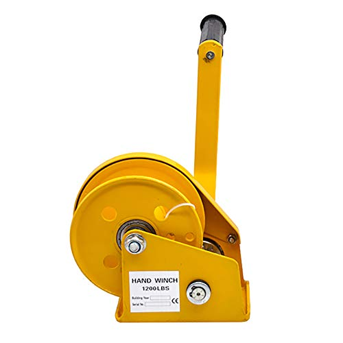 Handwinde Kurbelwinde Seilwinde Handseilwinde Winde mit Kurbel 1,5 t 1500 kg