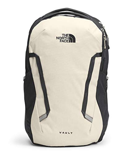 The North Face Women's Vault Backpack, Vintage White Dark Heather/Asphalt Grey Dark Heather, One Size
