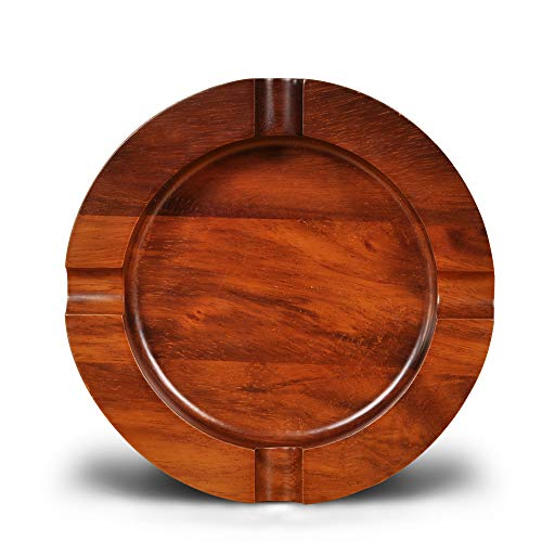 Briar & Oak Wood Cigar Ashtray w/ 4 Slots