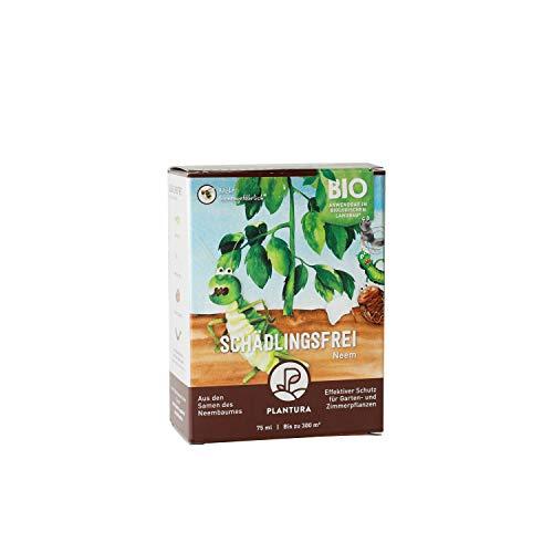 Plantura Bio Schädlingsfrei Neem, effektive Schädlingsbekämpfung mit Neem, 75 ml