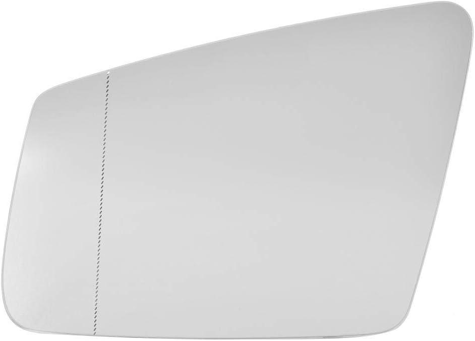 Links Beheiztes Spiegelglas Anti-Fog-beheiztes R/ückspiegelglas OE # A3159473 Passend f/ür C-Klasse E-Klasse W204 W212