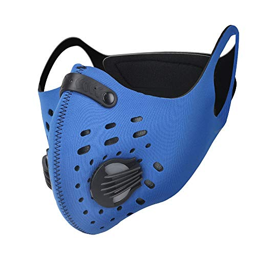 máscara con filtro para práctica deportiva