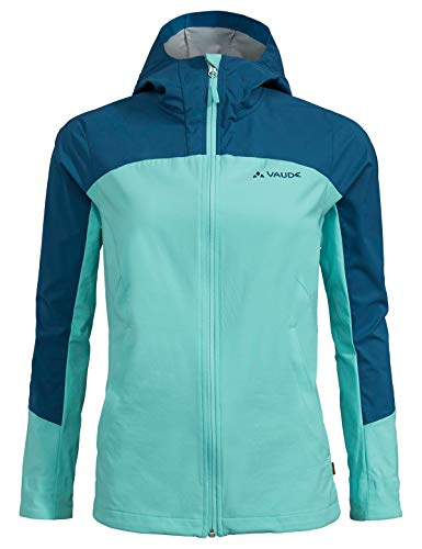 Vaude Damen Jacke Women's Skarvan Softshell Jacket II, Breeze, 38, 41814