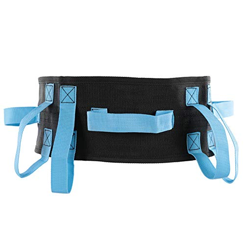 con asas de mano Cinturón de marcha, Cinturón de transferencia de correa de agarre manual de liberación rápida de nailon, Paciente para transferencia y herramienta de movimiento para caminar