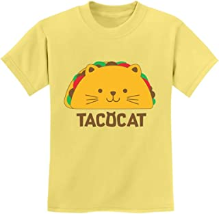 Tstars - Tacocat Spelled Backwards is Taco Cat Funny Youth Kids T-Shirt