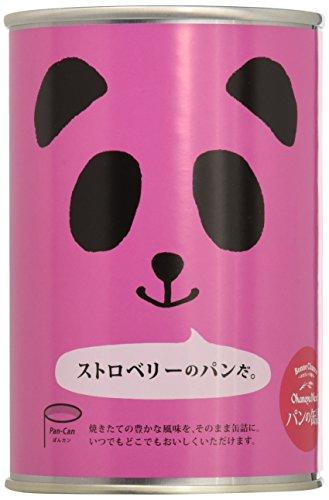 フェイス パンの缶詰 ストロベリーX24個 製造より3年保存 備蓄用保存パン [0037]