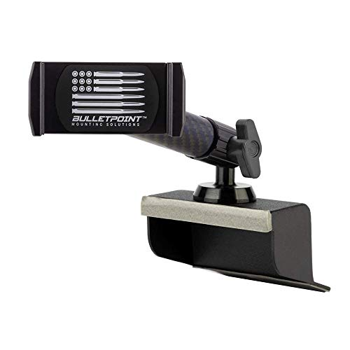 Dash Mount Cell Phone Holder Jeep Compatible Wrangler JK and JKU (2011-18) with Metal Base and...