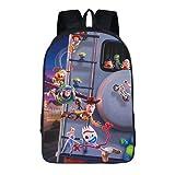 Toy Story Woody Buzz Lightyear - Mochila, correa ajustable para el hombro, adecuada para la escuela primaria y guardería, Toy5., 16', Mochila infantil