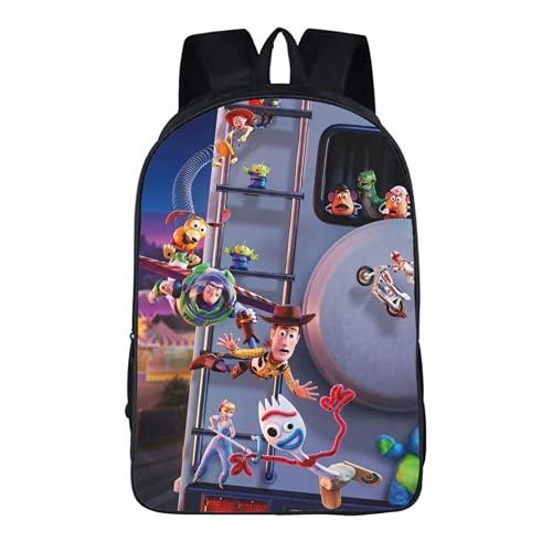 Toy Story Woody Buzz Lightyear: Mochila  correa ajustable para el hombro