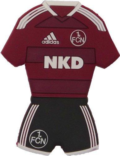 Diverse 1. FC Nürnberg 3D Magnet Trikot [rot]
