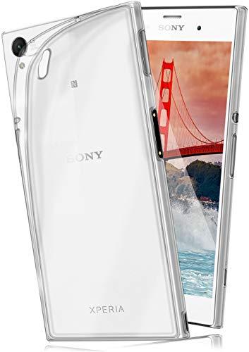 moex Aero Hülle für Sony Xperia Z3 - Hülle aus Silikon, komplett transparent, Handy Schutzhülle Ultra dünn, Handyhülle durchsichtig - Klar