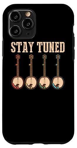 Cute Adult Children Vintage String Musician Designiphone 11 Pro Cool Stay Tuned Funny Retro Banjos Bluegrass Music Gift Case Dailymail
