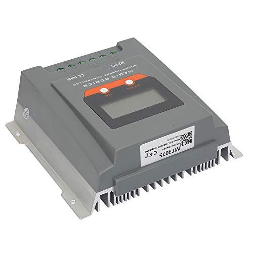 Controlador de cargador solar, con componentes de metal y electrónicos Control Tecnología Punto de seguimiento Eficiencia Eficiencia AMP Carga solar