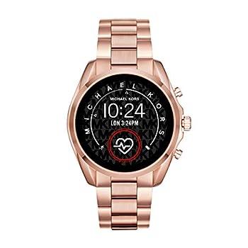 Michael Kors Access Bradshaw 2 Touchscreen Stainless Steel Smartwatch Rose Gold tone-MKT5086
