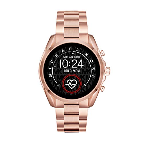 Michael Kors Access Bradshaw 2 Touchscreen Stainless Steel Smartwatch, Rose Gold tone-MKT5086