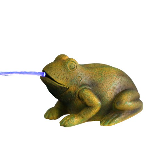 Beckett Frog Spitter with Pump and LED