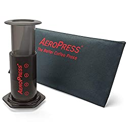 aeropress coffee maker, one of your travel bag accessories