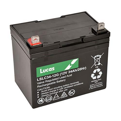 Lucas 36 Hole Golf Battery LSLC34-12G