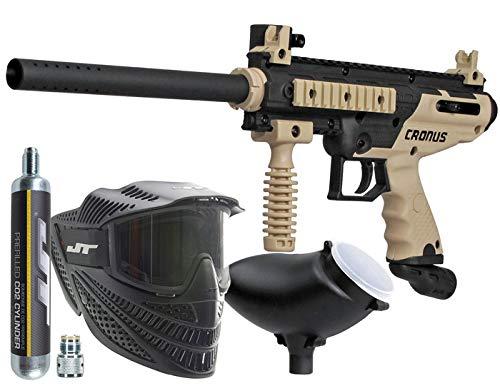 Tippmann Cronus PowerPack Basic Tan Includes 90gram Tank, JT Raptor Goggle, 200rd Loader
