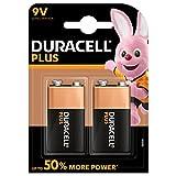 Duracell - Plus 9V Pilas, paquete de 2