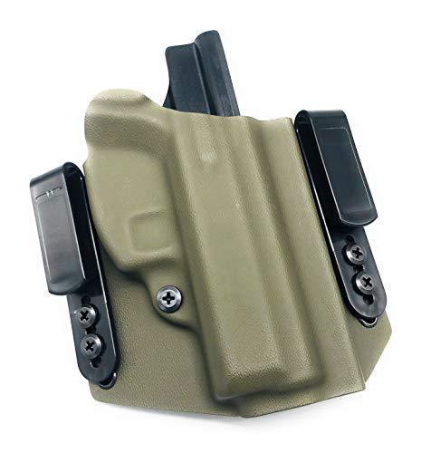 Neptune Concealment Kydex Gun Holster for CZ 75D PCR Compact - Veteran Made USA - Nestor Series IWB or OWB