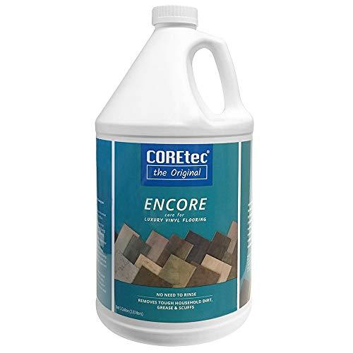 COREtec ENCORE 03Z77 Floor Cleaner Care for Luxury Vinyl Flooring Ready To Use 1 Gallon Refill