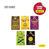 Toiing Card Games Party Favor Pack - 5 Super-Fun Card Games for Kids   Fun Family Indoor Games   Thoughtful Birthday Gift & Party Favor (Ages 4 Years Old and Above)