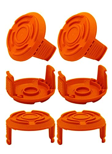 Iceyyyy 6 Pack GT Trimmer Replacement Spool Cap Covers, Weed Eater...