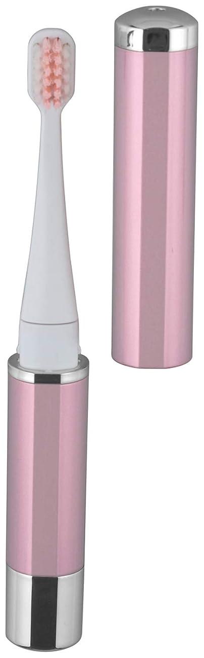 退化するに変わる三角形ロゼンスター マイナスイオン 音波振動歯ブラシ ピンク TB-100P