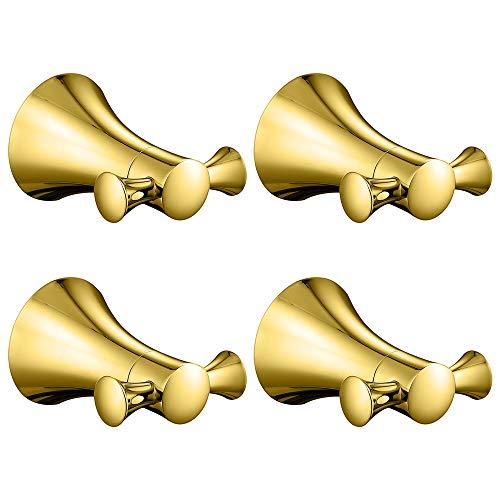 HAUSELIEBE Oro De Titanio Conciso Ganchos De Toallas De Acer
