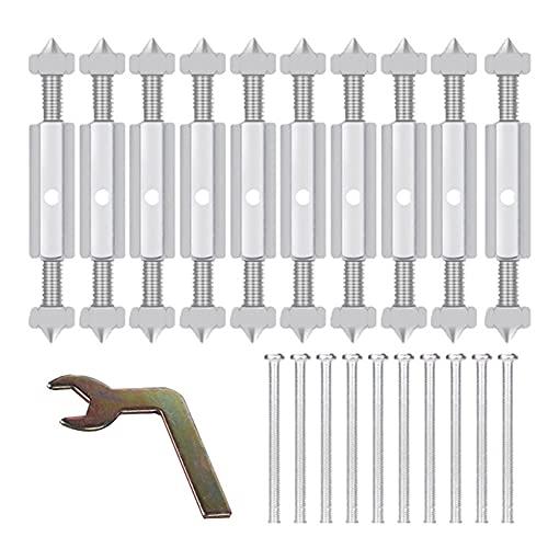 Xuebai Interruptor Socket Cassette Tornillos Soporte Rod Montaje en Pared Interruptor Caja Reparación Accesorios Eléctricos Herramienta