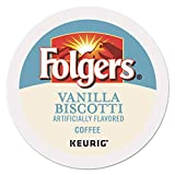 Folgers Gourmet Selections Single Cup for Keurig Brewers, Vanilla Biscotti, 24 Count