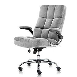 Image of SP Velvet Office Chair...: Bestviewsreviews