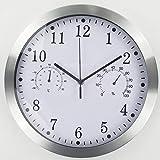 Timelike Orologio da Parete al Quarzo, in Metallo, Stile Moderno,...